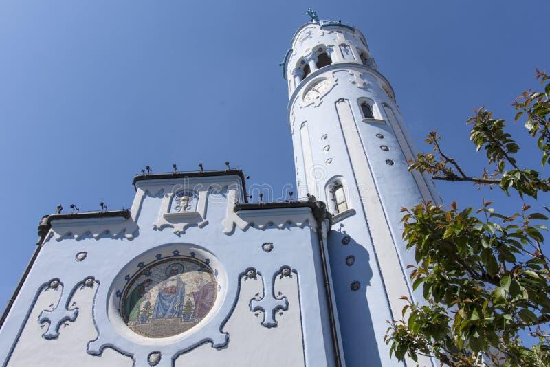 Świętego Elisabeth kościół w Bratislava zdjęcia stock