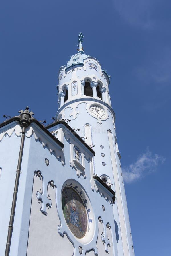Świętego Elisabeth kościół w Bratislava obraz stock