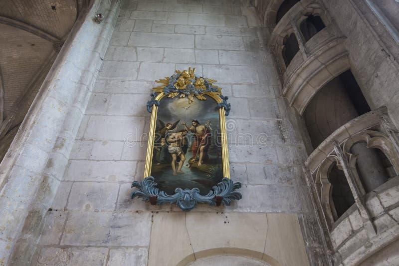 Świętego Etienne katedra w Beauvais, Francja obraz stock