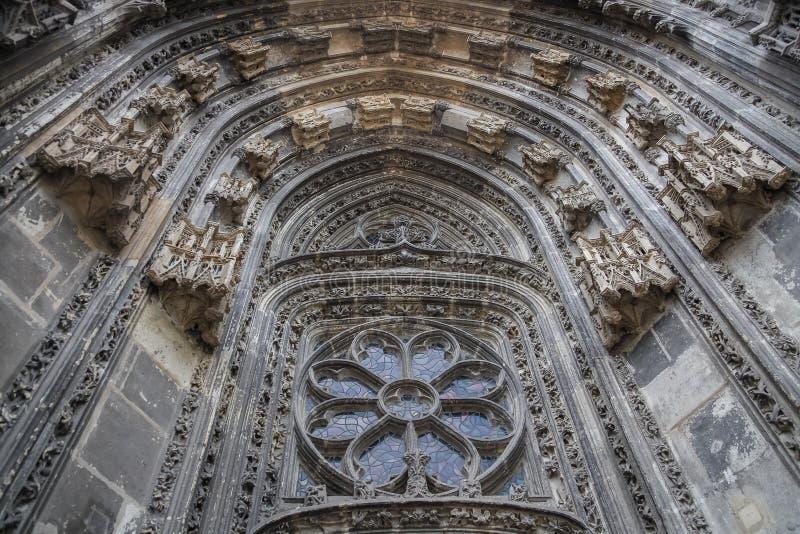 Świętego Gatien katedra, wycieczki turysyczne, Francja obrazy stock