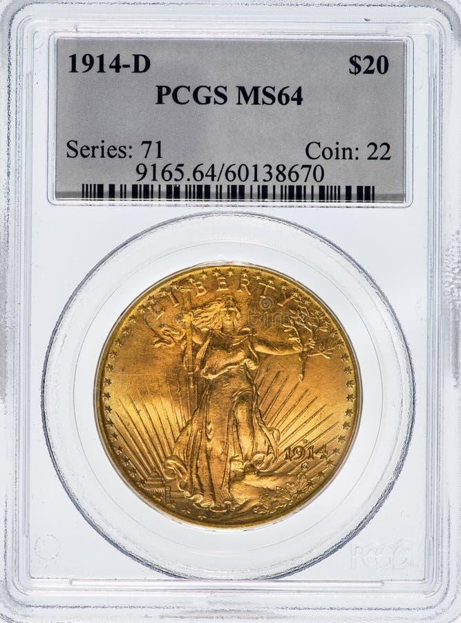 Świętego Gaudens kopia Eagle obrazy stock