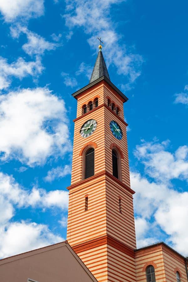 Świętego Jakob kościół w Friedberg zdjęcia royalty free