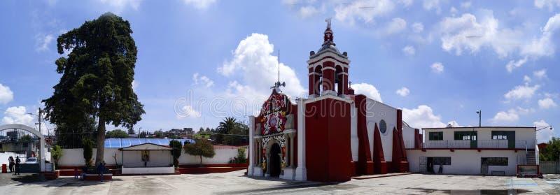 Świętego John Baptiste kościół panoramiczny zdjęcie stock