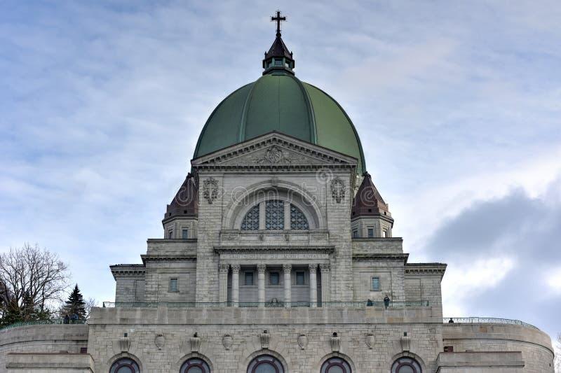 Świętego Joseph krasomówstwo - Montreal, Kanada fotografia stock