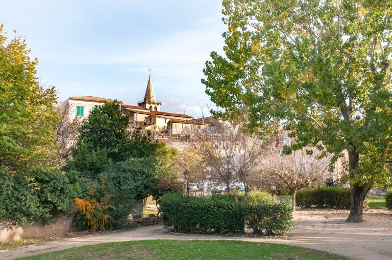 świętego kościół w Brignoles, Francja zdjęcie stock