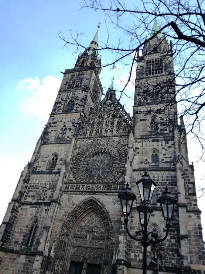 Świętego Lorenz kościół obraz royalty free