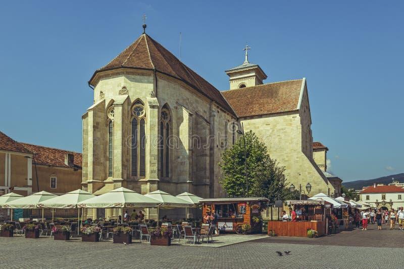 Świętego Michael katedra, Alba Iulia, Rumunia zdjęcia royalty free