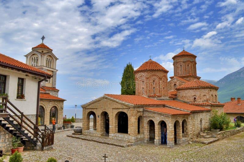 Świętego Naum monaster, Ohrid, Macedonia zdjęcia royalty free