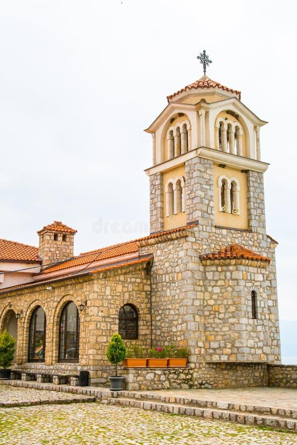Świętego Naum monaster w Macedonia zdjęcia royalty free