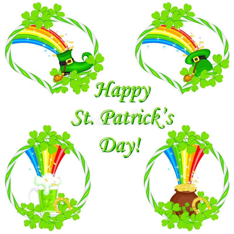 Świętego Patrick dzień ilustracja wektor