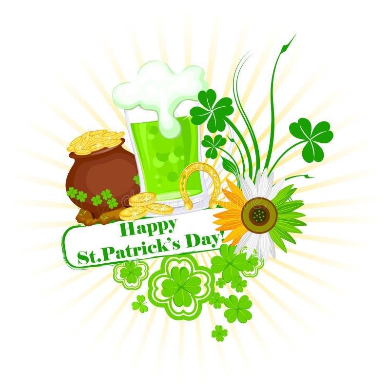 Świętego Patrick dzień royalty ilustracja