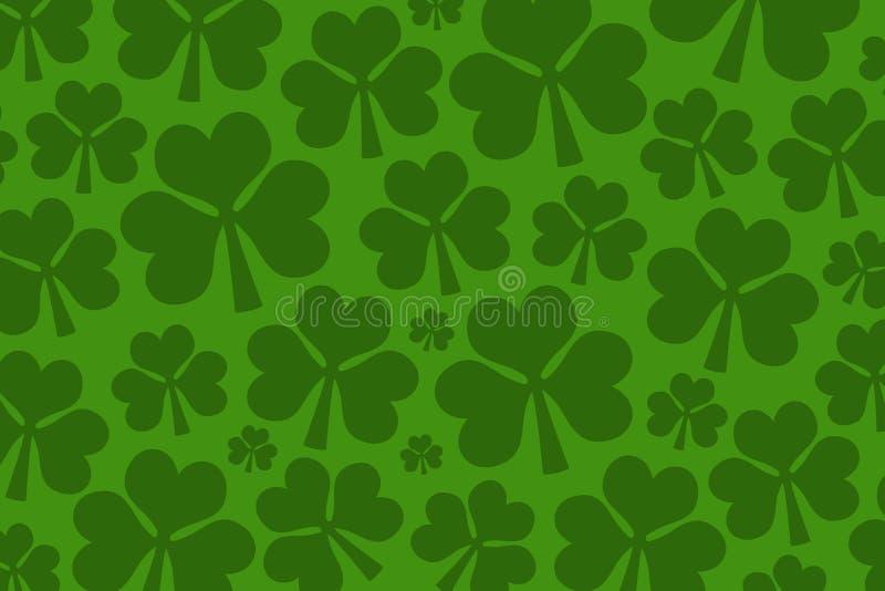 Świętego Patrick ` s dnia tło ilustracji