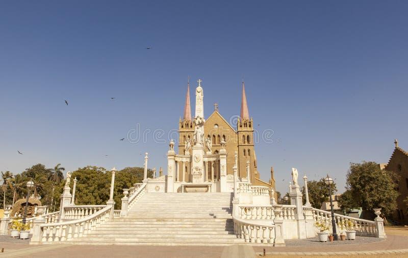 Świętego Patrick ` s katedra, Karachi, Pakistan obraz stock