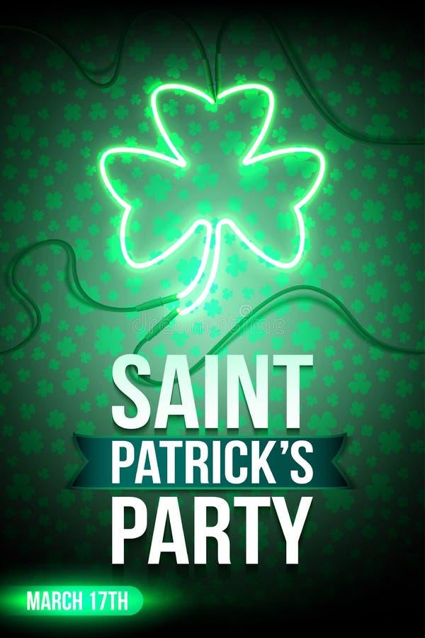 Świętego Patrick ` s przyjęcie ilustracji