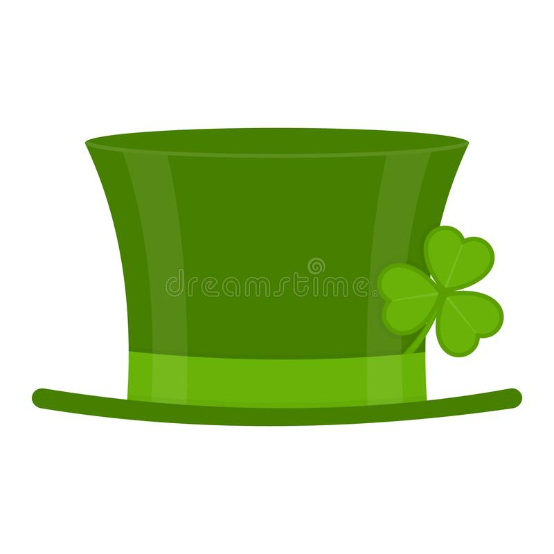 Świętego Patricks dnia kapelusz royalty ilustracja