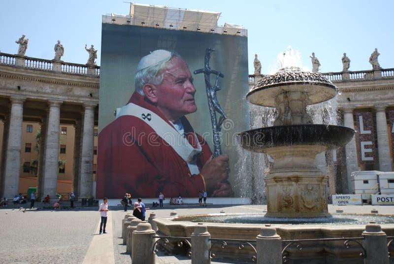 Świętego Peter ` s kwadrat, Rzym, świętego Peter ` s bazylika, atrakcja turystyczna, turystyka, świątynia, buduje zdjęcia stock