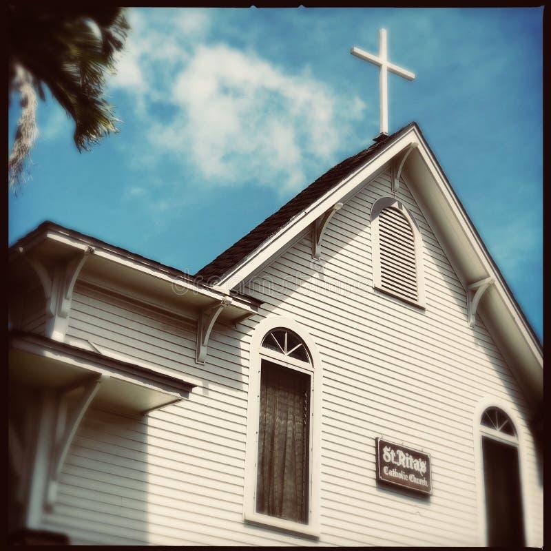Świętego Rita kościół katolicki na Maui obraz royalty free