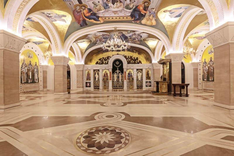 Świętego Sava katedra w Belgrade, Serbia fotografia royalty free