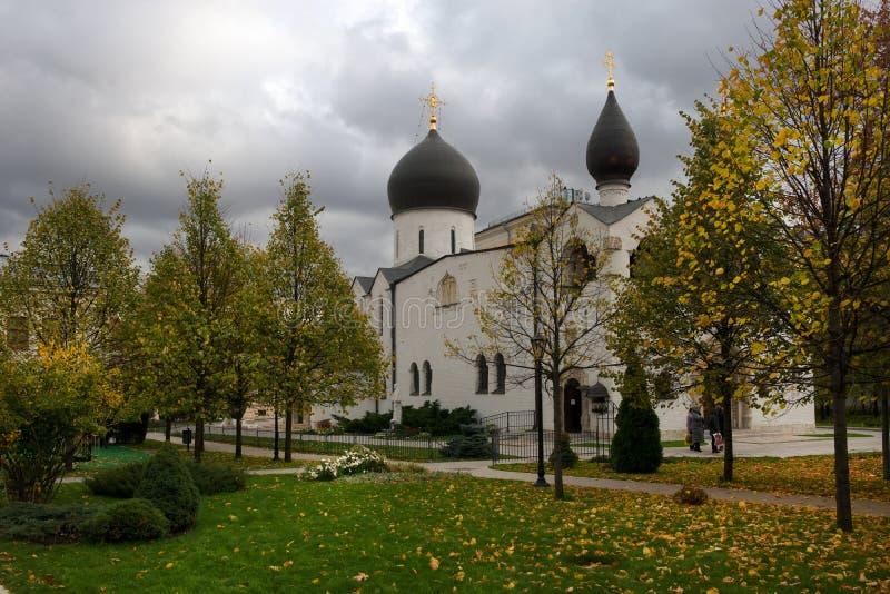Świętej ochrony Marfo-Mariinsky Kościelny klasztor litość obraz stock