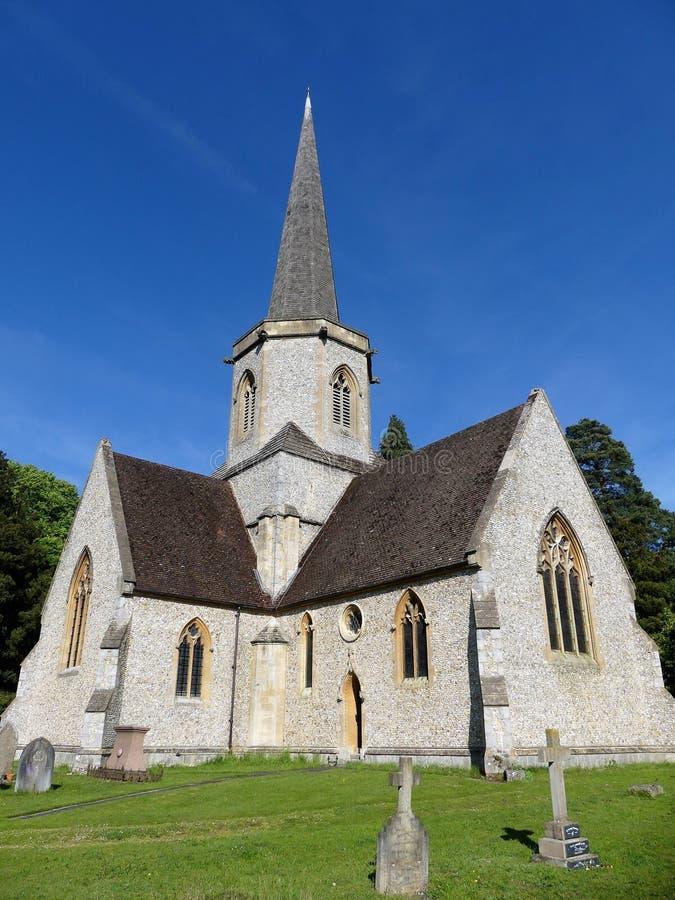 Świętej trójcy farny kościół, Penn ulica, Buckinghamshire, Anglia, UK zdjęcia stock