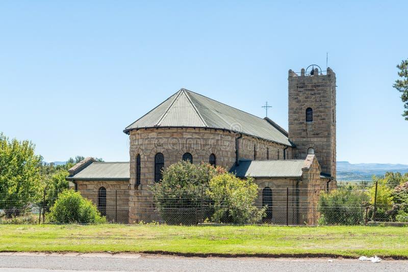 Świętej trójcy kościół rzymsko-katolicki w Matatiele zdjęcia stock