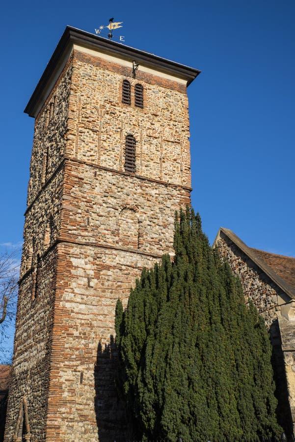 Świętej trójcy kościół w Colchester zdjęcie royalty free