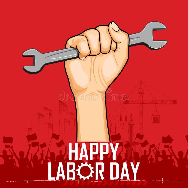 Święto Pracy ilustracji