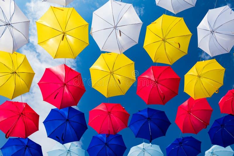 Święto Tęczowej Parasoli obrazy royalty free