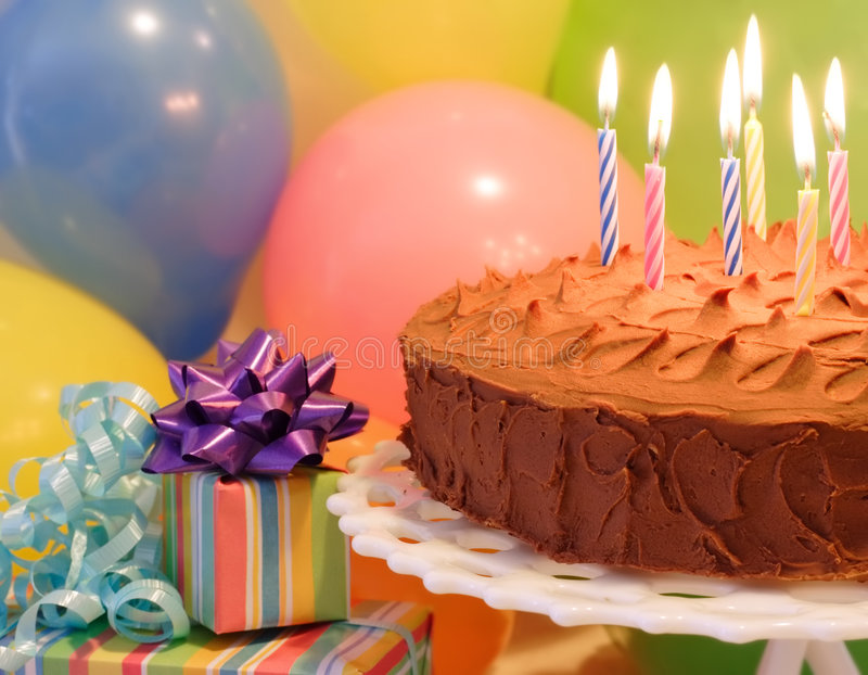 świętować urodziny fotografia royalty free