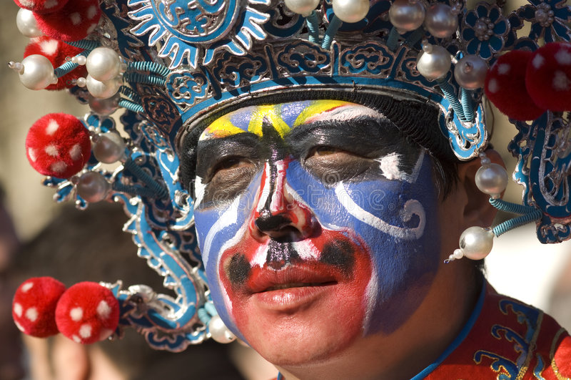 świętowania chiński nowy Paris rok obrazy royalty free