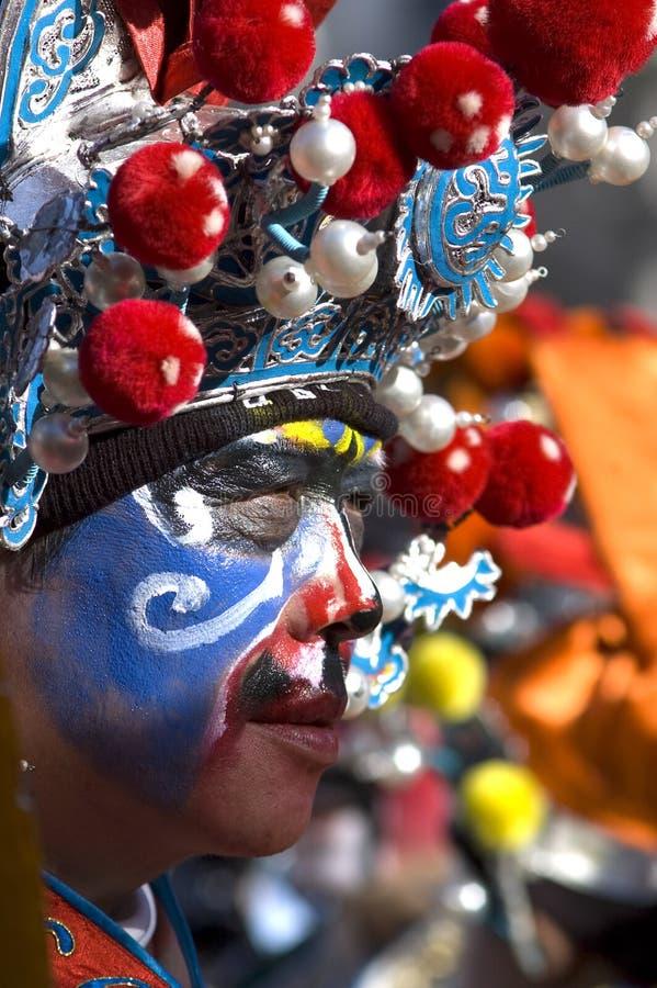 świętowania chiński nowy Paris rok fotografia royalty free