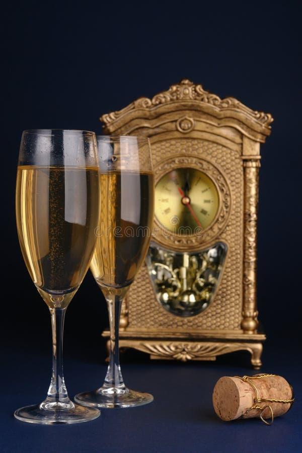 świętowania dzień nowy s rok obrazy royalty free