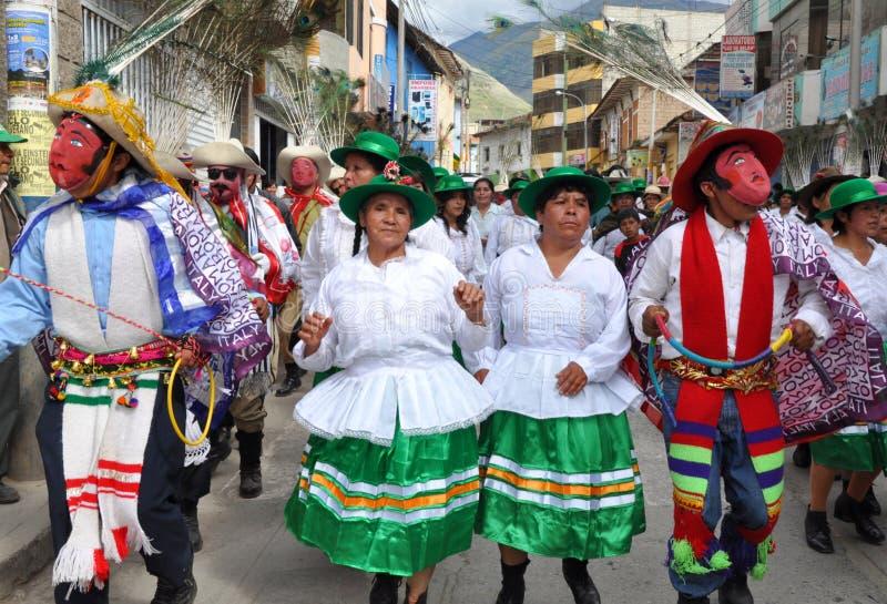 świętowania objawienie pańskie Peru zdjęcie royalty free