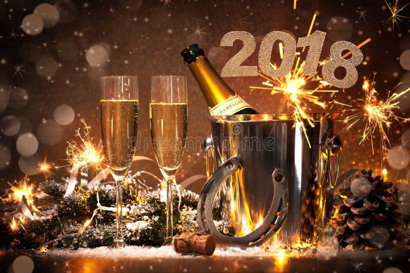 świętowania wigilii nowy rok zdjęcia royalty free