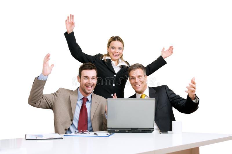 Download świętowanie Biznesowa Drużyna Zdjęcie Stock - Obraz złożonej z ludzie, świętowanie: 13340744
