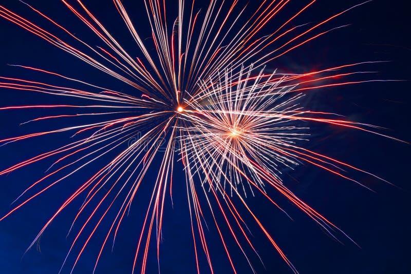 świętowanie fajerwerki obraz royalty free