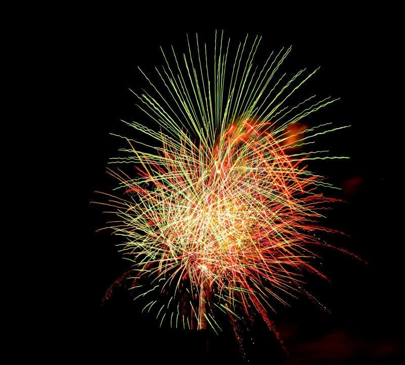 Świętowanie kontynuuje nowego roku dzień obrazy stock