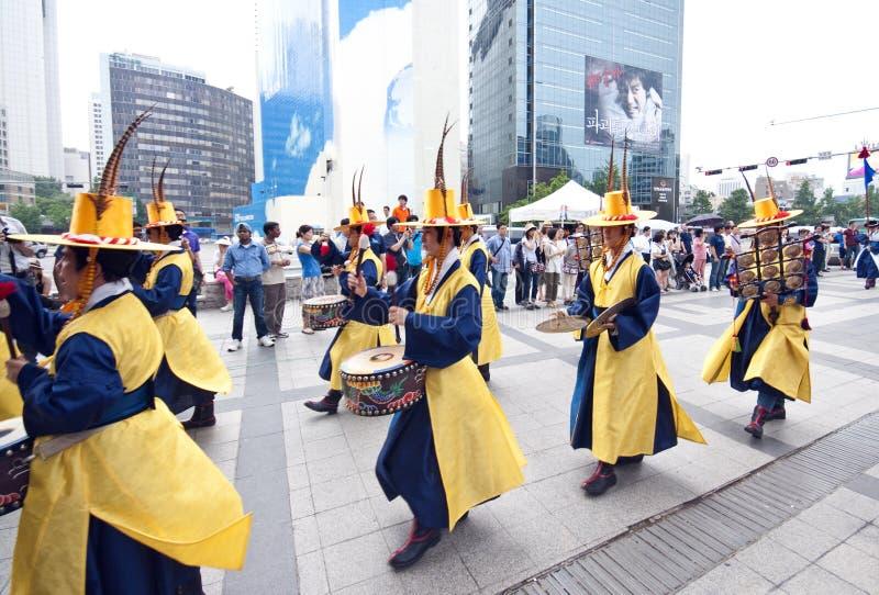 świętowanie lud Seoul zdjęcia royalty free