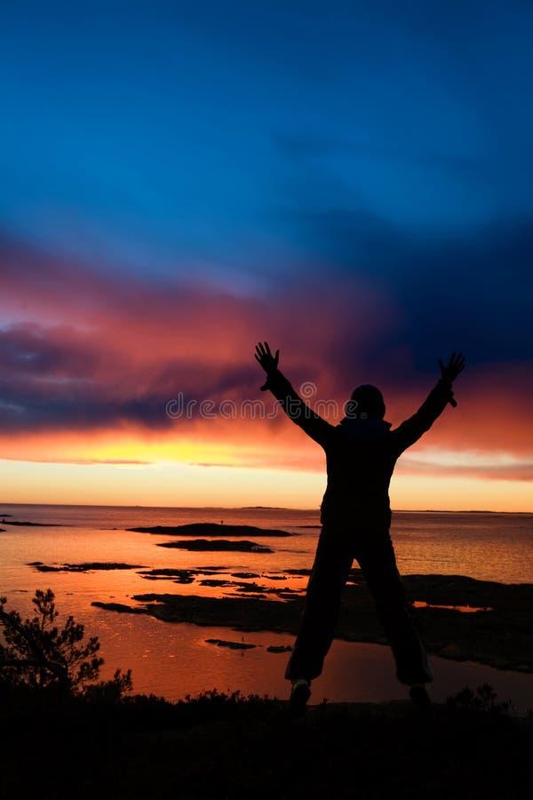 świętowanie oceanu zdjęcie royalty free