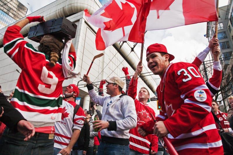 świętowanie olimpijski zdjęcie stock