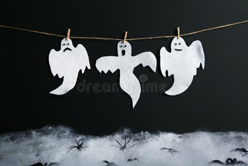 świętuj tła ducha Halloween wakacje zdjęcia stock