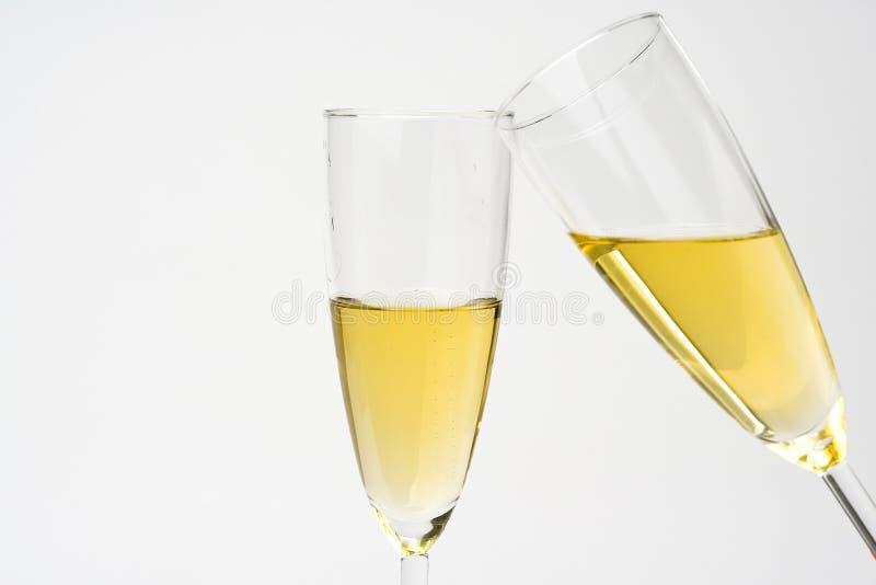 świętuje świątecznych szampańskich boże narodzenia zdjęcie royalty free