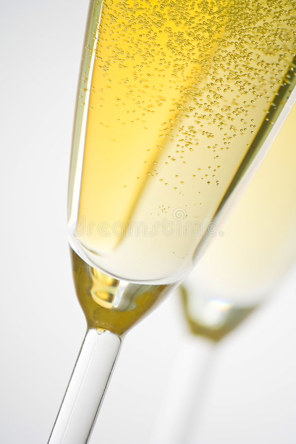 świętuje świątecznych szampańskich boże narodzenia obraz stock