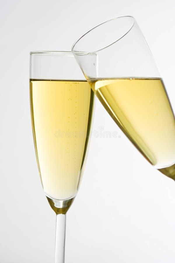 świętuje świątecznych szampańskich boże narodzenia zdjęcia royalty free