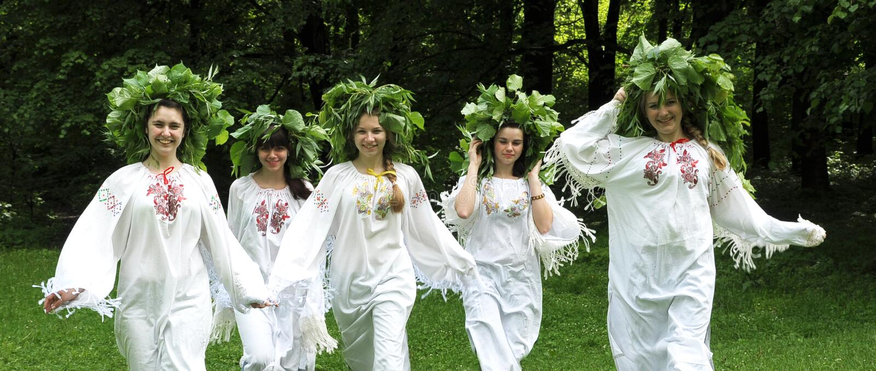 Świętuje antycznego pogańskiego wakacje Midsummer_3 obraz royalty free