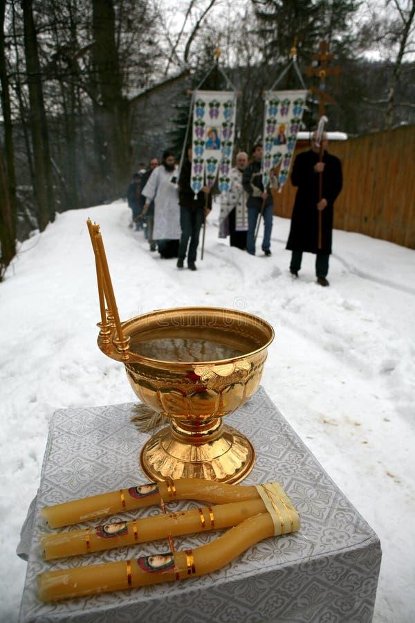 świętuje chrześcijanina ortodoksyjnego epithany