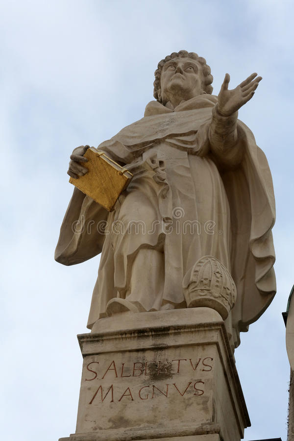 Święty Albert Wielki fotografia royalty free