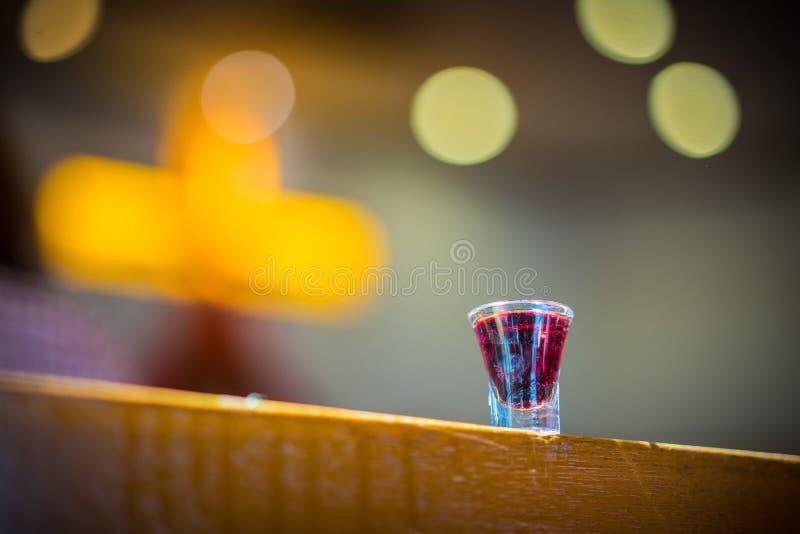 Święty communion obraz stock
