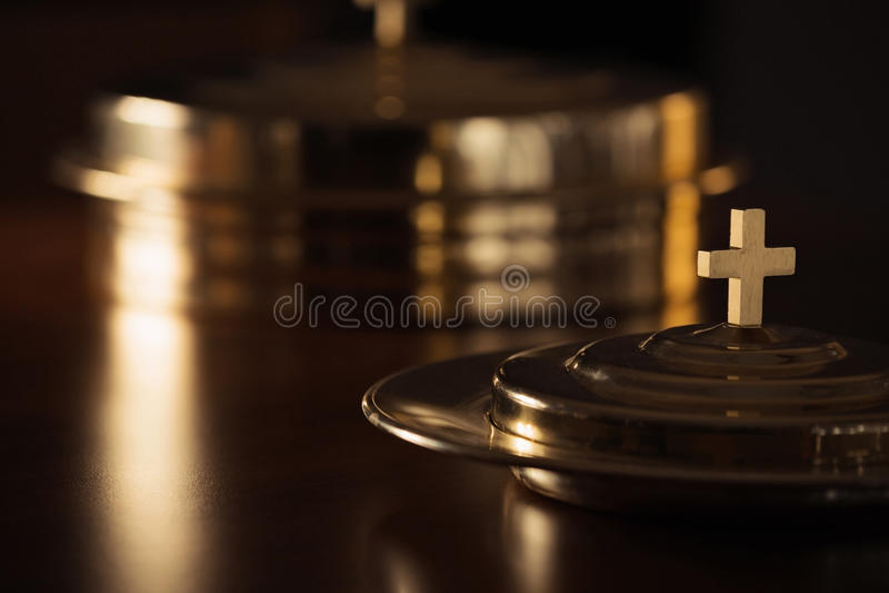 Święty communion obraz royalty free