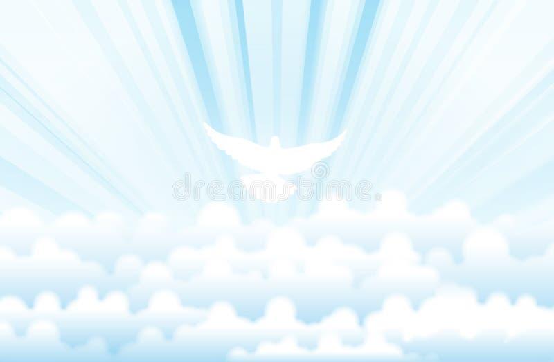 święty duch royalty ilustracja